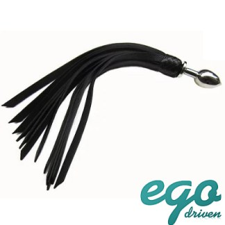 Butt Plug with Leather Tails - Plug Anale avec Fouet - Ego Driven