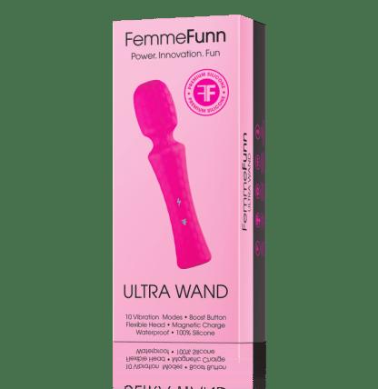 Ultra Wand - Vibromasseur Rechargeable - FemmeFunn