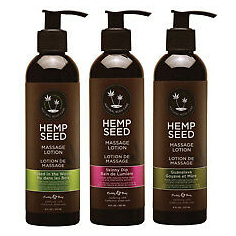 Hemp Seed Massage Lotion - Crème de Massage - Earthly Body
