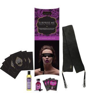 Surprise Me - Erotic Play Set - Ensemble Cadeau - Kama Sutra