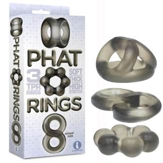 Phat Rings Smoke 1 - Ensemble d'Anneaux - Icon Brands