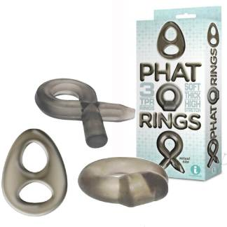 Phat Rings Smoke 2 - Ensemble d'Anneaux - Icon Brands