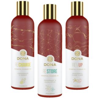 Dona - Huiles Essentielles de Massage - System Jo
