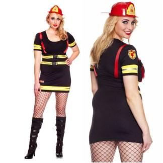 Fire Hazard Honey - 70482Q - Grande Taille - Leg Avenue