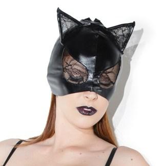 Masque de Chat - Wetlook et Dentelle - D2245 - Coquette