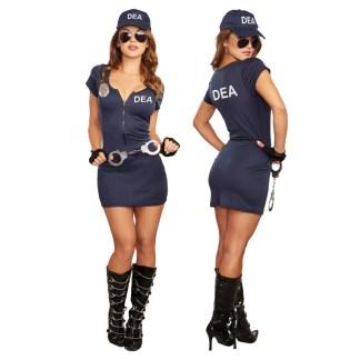 DEA - Costume de Policière - 11640 - Dreamgirl