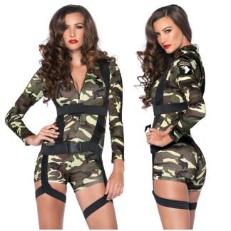 Commando Femme - Costume - 85292 - Leg Avenue
