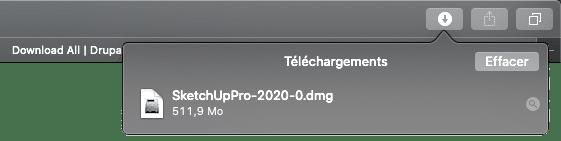 téléchargement de sketchup sur mac