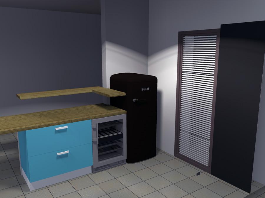dimension meuble de cuisine