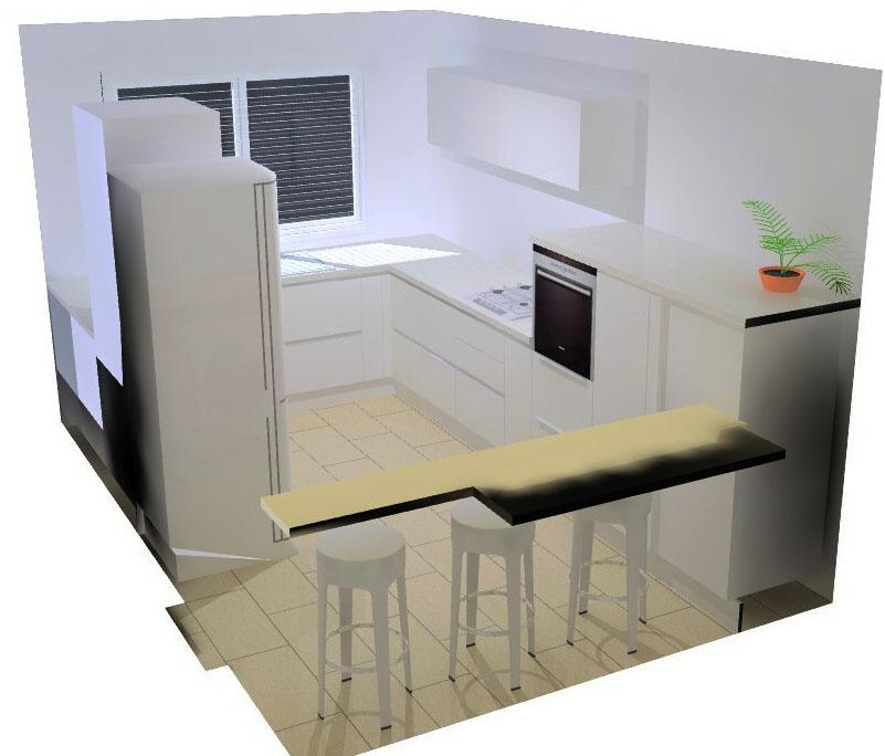 meuble de cuisine sans poignée