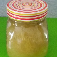 Confiture rhubarbe pomme