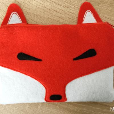 Petite fierté : ma pochette renard