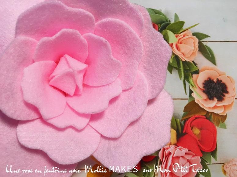 rose feutrine mollies makes mon ptit tresor