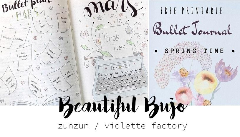BuJo coups de ♥ ZunZun & Violette Factory