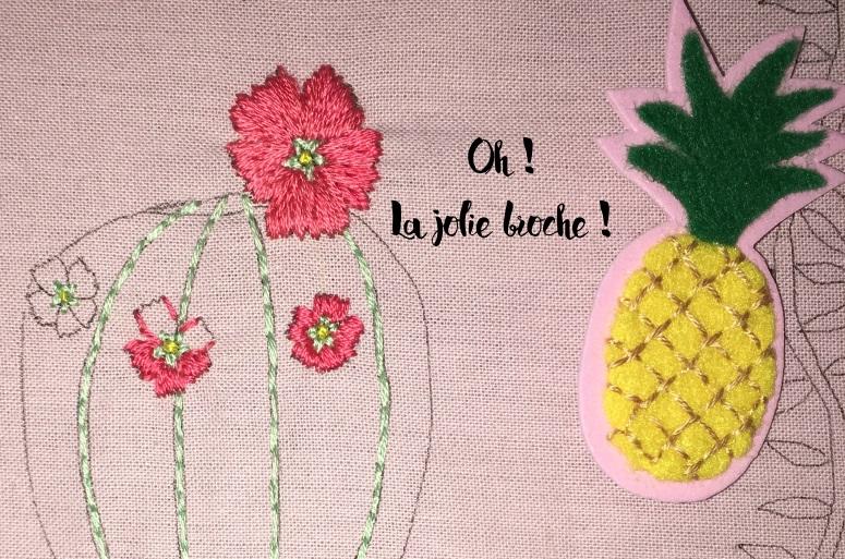 jlie broche ananas