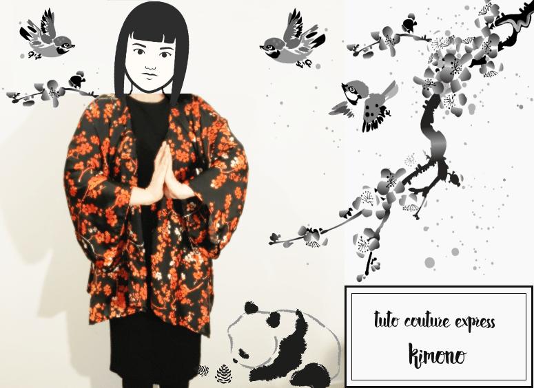 🌸 J'ai tenté un kimono 👘