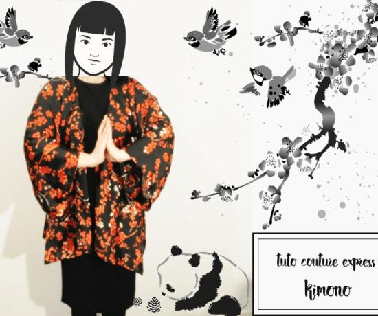 kimono projet couture japon
