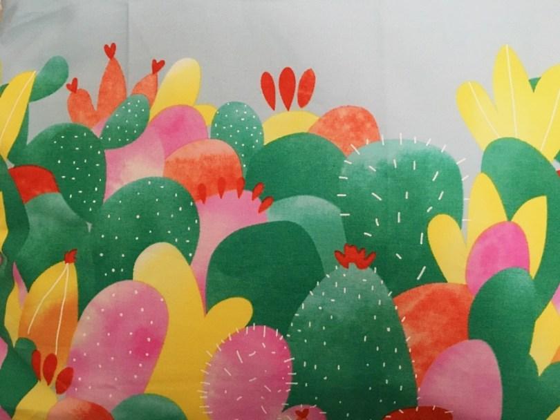 des cactus partout tissu