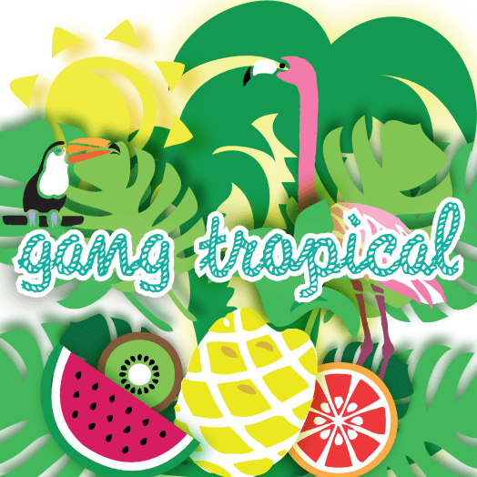 logo gang tropical