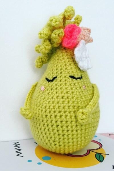 Poire la Coquette #crochet