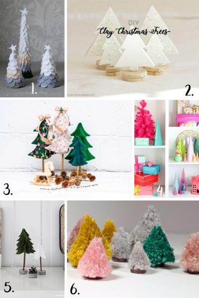 DIY coups de ♥ : mini sapins de Noël 🌲