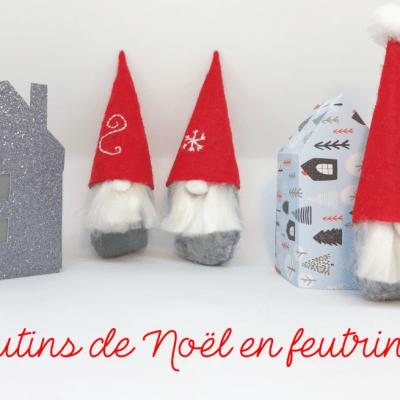 DIY : Lutins Noël en feutrine