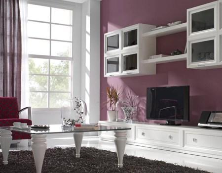 Mueble para salon Penelope blanco