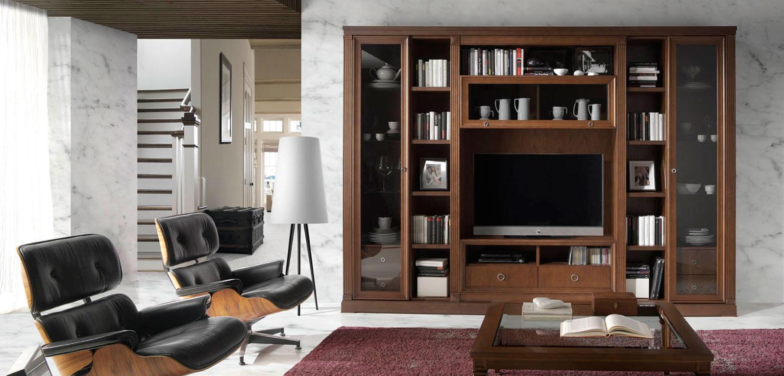 Muebles Monrabal Chirivella. Composición colección Pasión