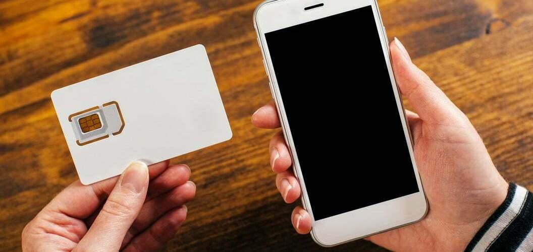 Comment installer la carte SIM dans un portable ou Iphone ?