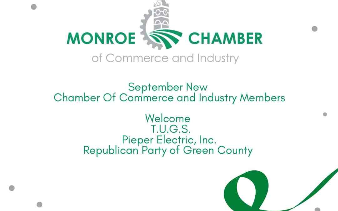 September: New Members