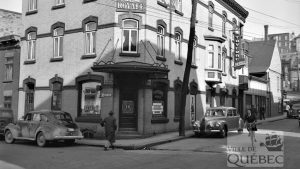 Saint-Roch dans les années 1940 (19) : le Café Dorchester et la Taverne Royale