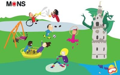 Plaines de vacances organisées en juillet 2021 à Mons (Ghlin,Cuesmes et Havré)