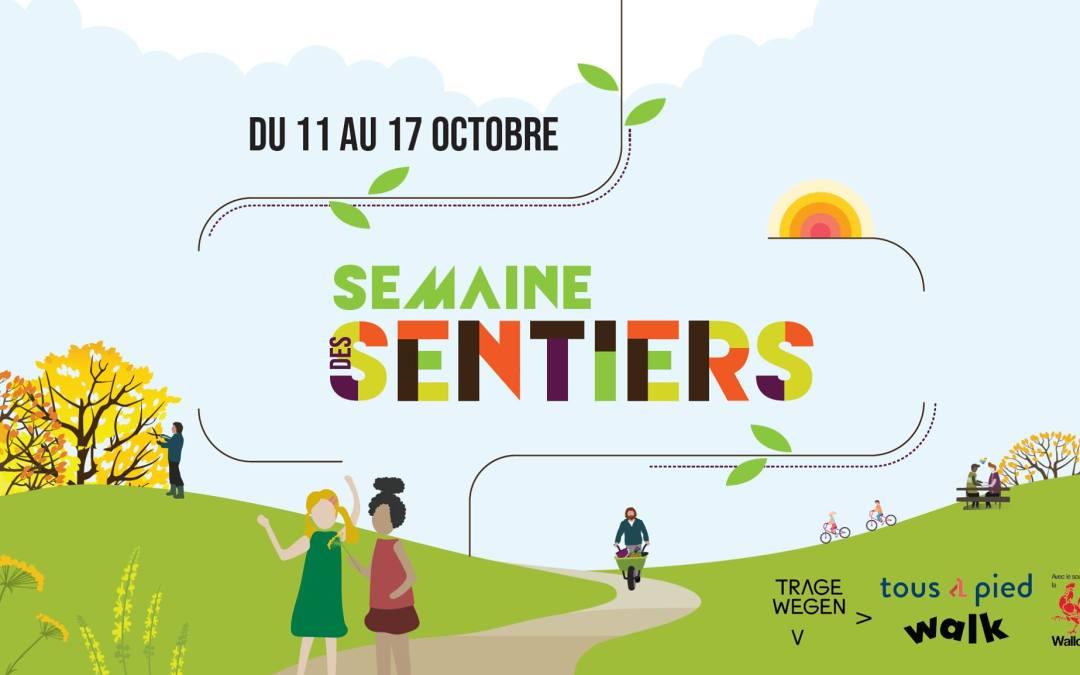La semaine des sentiers du 11 au 17 octobre 2021