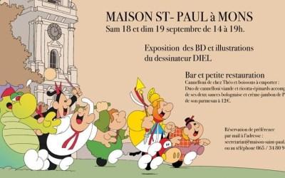 Exposition «Diel»à la Maison Saint-Paul à Mons 18 & 19 septembre 2021