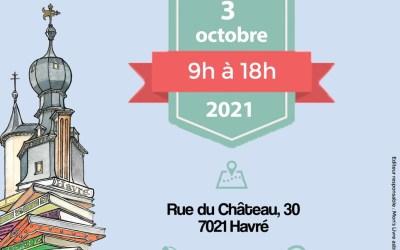 Marché des bouquinistes au Château d'Havré dimanche 3 octobre 2021