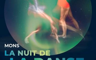 La nuit de la danse à Mons du 7 au 10 octobre 2021