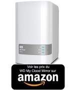 Achat WD My Cloud Mirror amazon
