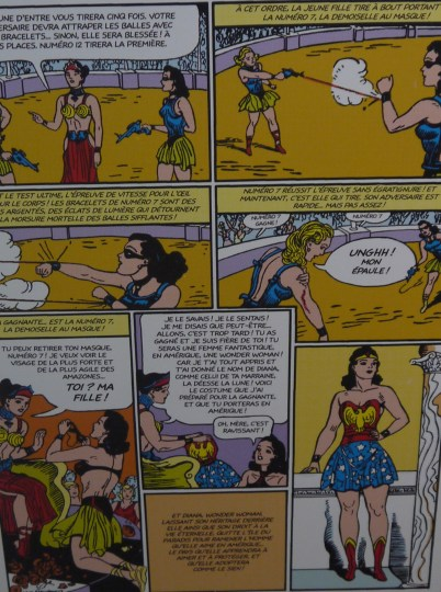 Planche de Wonder Woman (1941) ©Monsieur Benedict