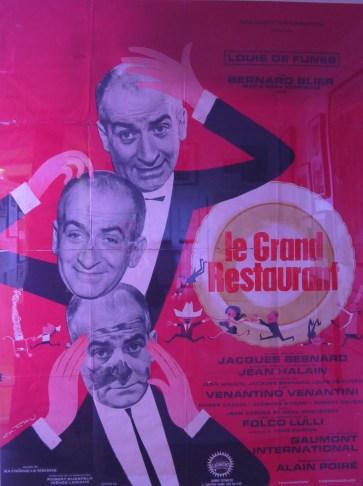 """Affiche """"Le grand restaurant"""" ©Monsieur Benedict"""