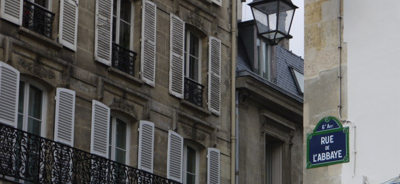 La rue de l'Abbaye ©Monsieur Benedict