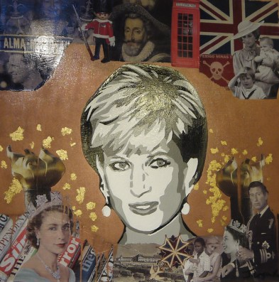 Lady Diana par Jessica LeGuillon © La galerie Pari(s) Urbain