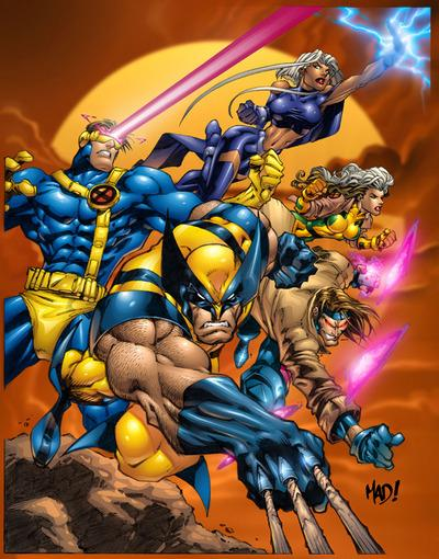 Dessin de Joe Madureira