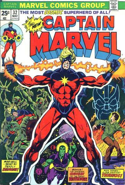 Captain Marvel par Jim Starlin