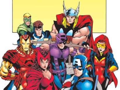 Avengers par Carlos Pacheco