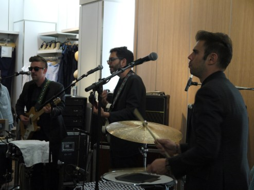 Showcase du groupe Lucius ©Monsieur Benedict