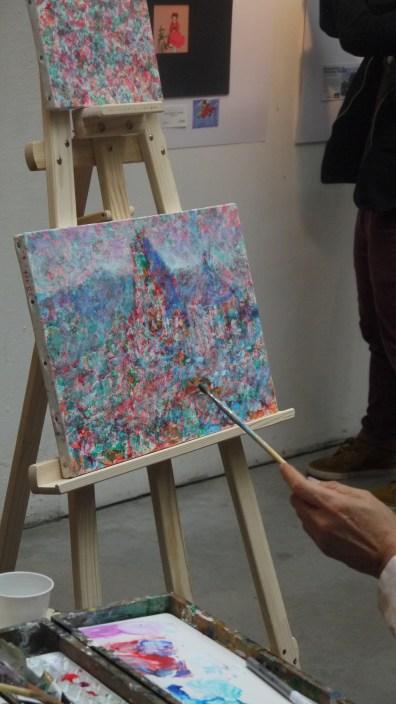 Exposition de Naohisa Inoue à l'Espace Japon ©Monsieur Benedict