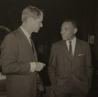 Robert Kennedy et James Merith