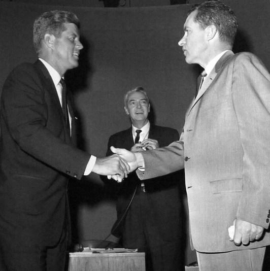 John Fitzgerald Kennedy et Richard Nixon