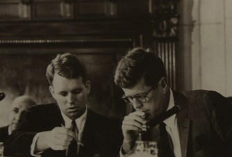 John Fitzgerald Kennedy et Robert Kennedy