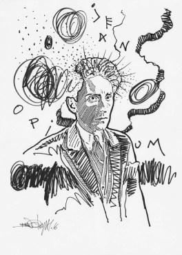Jean Cocteau © Bruno Leyval